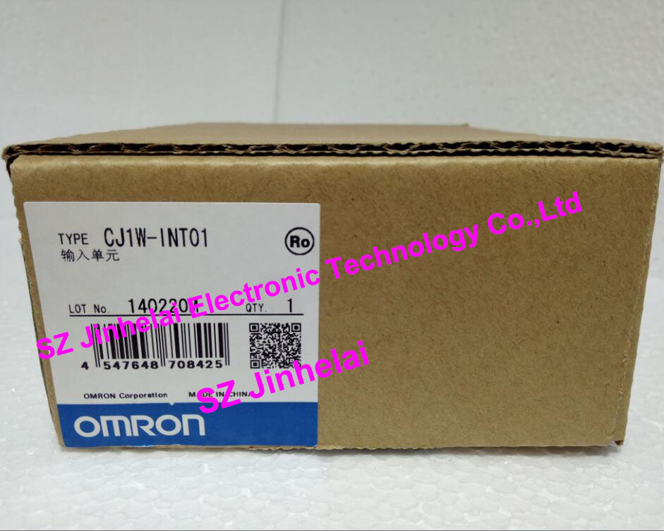CJ1W-INT01   New and original OMRON PLC INPUT UNIT new and original e3x da11 s omron optical fiber amplifier photoelectric switch 12 24vdc