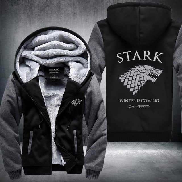 Game of Thrones House Stark of Winterfell Hoodies