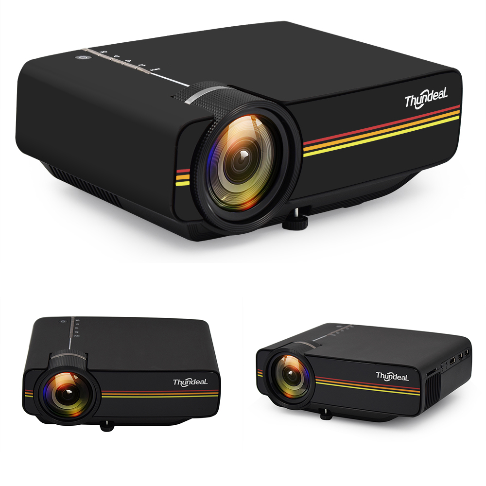 ThundeaL YG400 YG400A Mini Projector With 1800 Lumen and Built-in Speakers 22