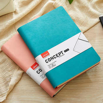 Soft Cover Thick Creative Notebook Diary Squared Journal - DISCOUNT ITEM  10% OFF All Category
