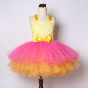 Image 4 - Mädchen Lol Tutu Kleid Nette Prinzessin Cartoon Puppe Mädchen Geburtstag Party Kleid für Kinder Mädchen Weihnachten Halloween Lol Cosplay Kostüm