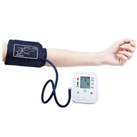 Automatic Digital Upper Arm Blood Pressure Pulse Monitors Tonometer Portable Health Care Blood Pressure Meters Sphygmomanometer