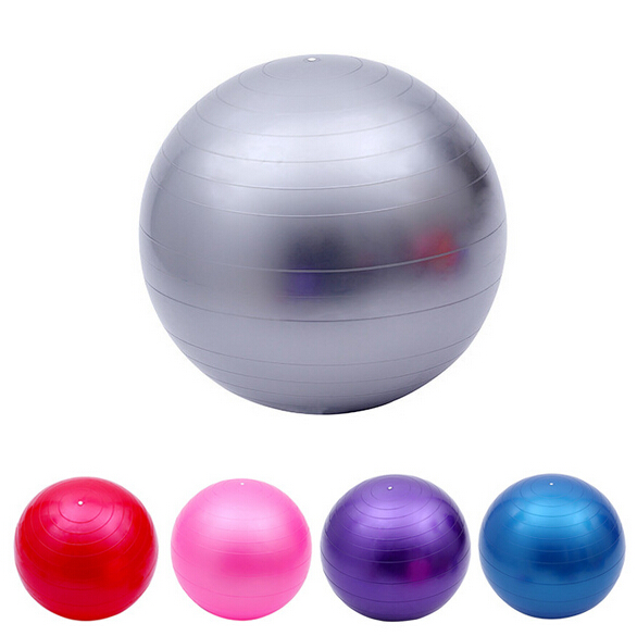 Waist Back Massage Ball Yoga Ball Slimming Body Improve Balance function Massage Muscles with Inflatable Pump 55cm