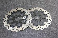 Brand new Motorcycle Rear Brake Disc Rotors For KAWASAKI ZX12R(A1/A2/B1 B3) 00 04 Universel