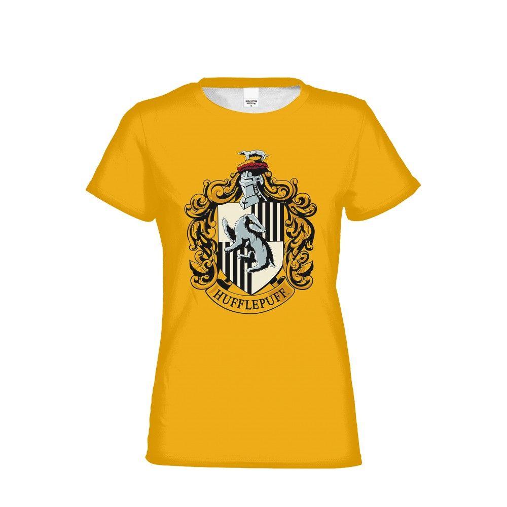 חולצות הארי פוטר בדגמי בית הספר - חולצת האפלפאף צהובה