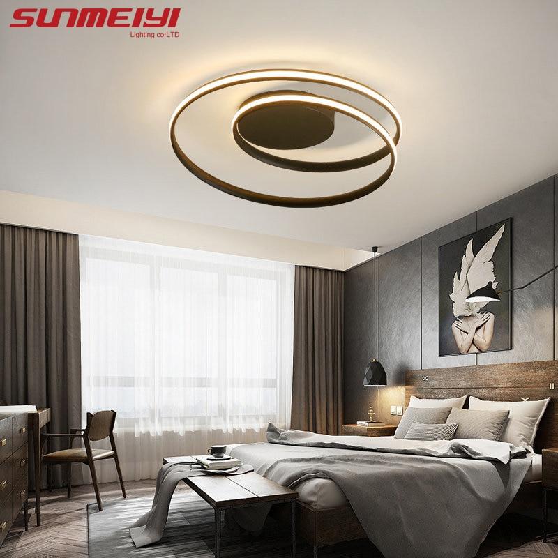 Round Led Ceiling Lights luminaire plafonnier For Living room kitchen lampen modern Light Fixtures verlichting plafond