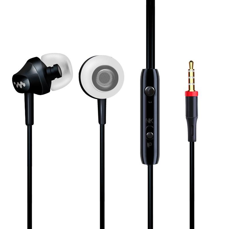 Přenosné kabelové In-ear sluchátka pro iPhone 5 6 Samsung Xiaomi Sluchátko venkovní sportovní sluchátka sluchátka s mikrofonem pro telefon  t