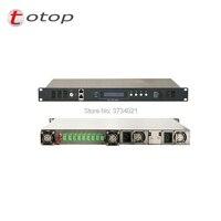 Оптический усилитель EDFA CATV с веб управлением 1550nm Erbium Doped оптический усилитель SC APC волоконный интерфейс