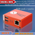 sigma box with pack1+pack2 free shipping