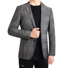 MarKyi spring new military style blazer for men good quality cotton fashion 2018 jacket suit