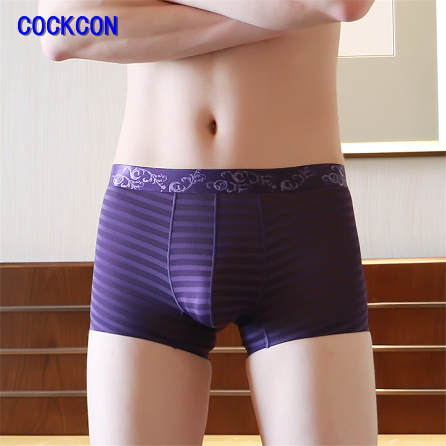 Hot silk cock boxers