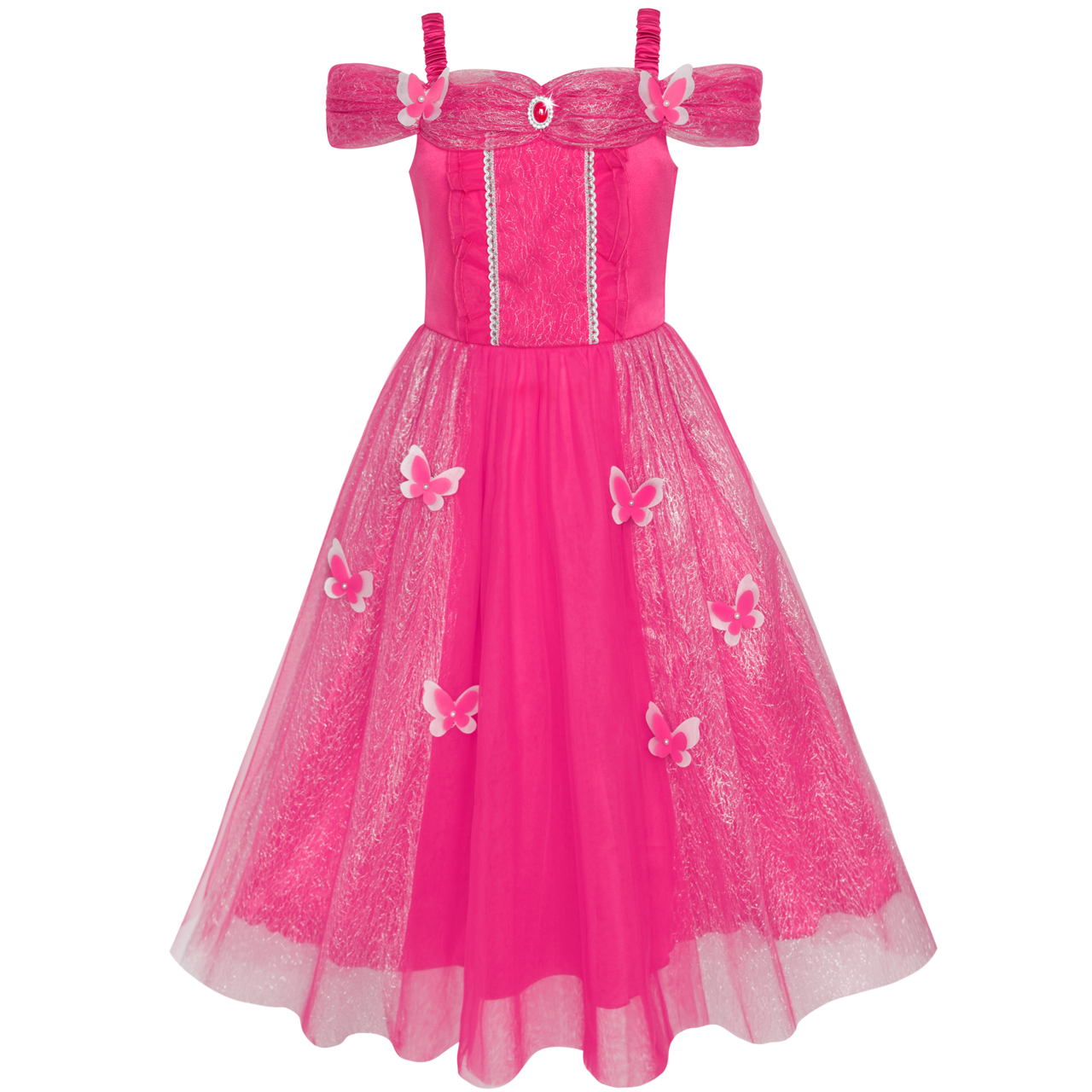 Girls Dress Butterfly Dress Up Princess Costumes Party