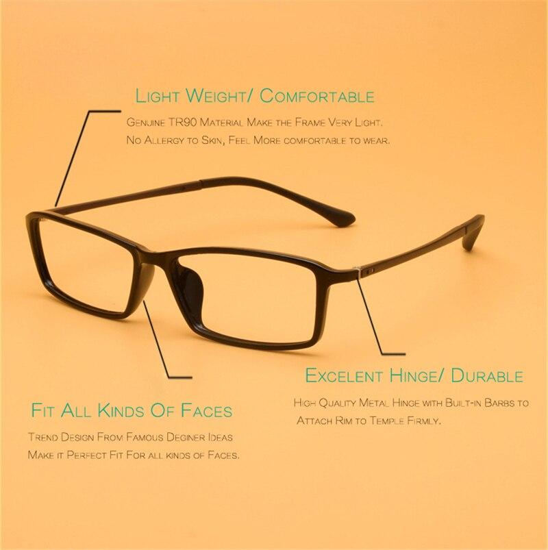 Genuine TR90 Optical Eye Glasses Frame For Prescription Eyewear ...