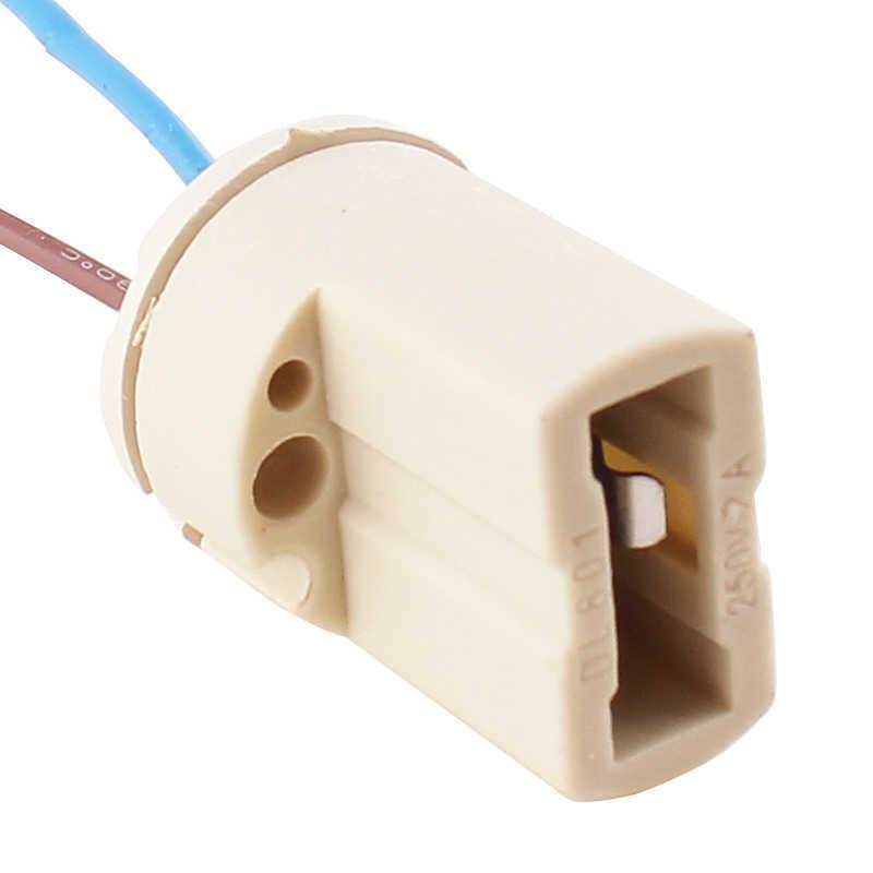 1pcs/lot G9 Lamp Base 250V 2A Ceramic Socket High quality G9 Type Halogen Lamp Holder