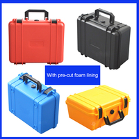 Tool Case Toolbox Electronic Instrument Case Small Collection Kit Plastic Hand Held Camera Case With Pre