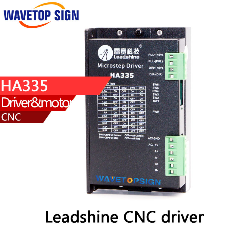 leadshine stepper motor driver HA335   2phase stepper driver stepper motor controller leadshine dma860h 2 phase digital stepper motor driver 36 75vac 7 2a ma860