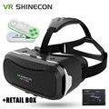 VR SHINECON II 2 Виртуальной Реальности Гарнитура IMAX 3D Видео Очки радиационной Защиты для Кино Игры 4.7-6 дюймов Мобильных Телефонов