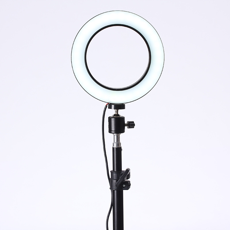 Image 5 - Baolyda LED Ring Light Selfie 16/26cm Studio Ring Light Makeup with Lighting Dimmable & Cradle Head for MakeUp Video Live Studio-in Photographic Lighting from Consumer Electronics