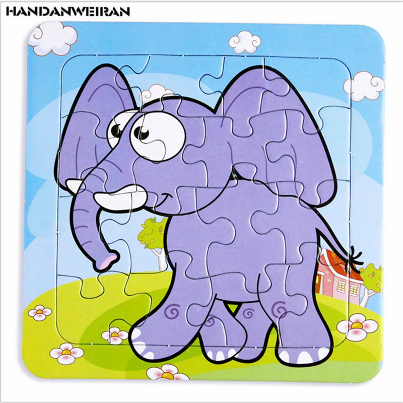 1pc / loturi Puzzle cu desene animate pentru copii Puzzle pentru - Jocuri și puzzle-uri