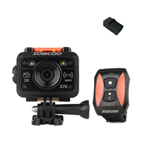 SOOCOO S70 HD 2K WIFI Sport Action Camera Anti-Shock Waterproof Wireless Remote Control HD 170-degree Angles (Add A Charger )