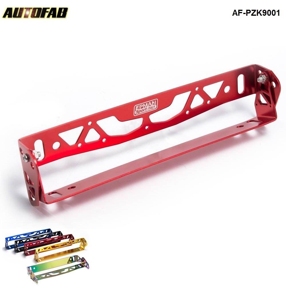 Car-Styling Adjustable Racing Style Relocate Bracket Car Autos License Plate Frame Holder For Toyota Honda AF-PZK9001