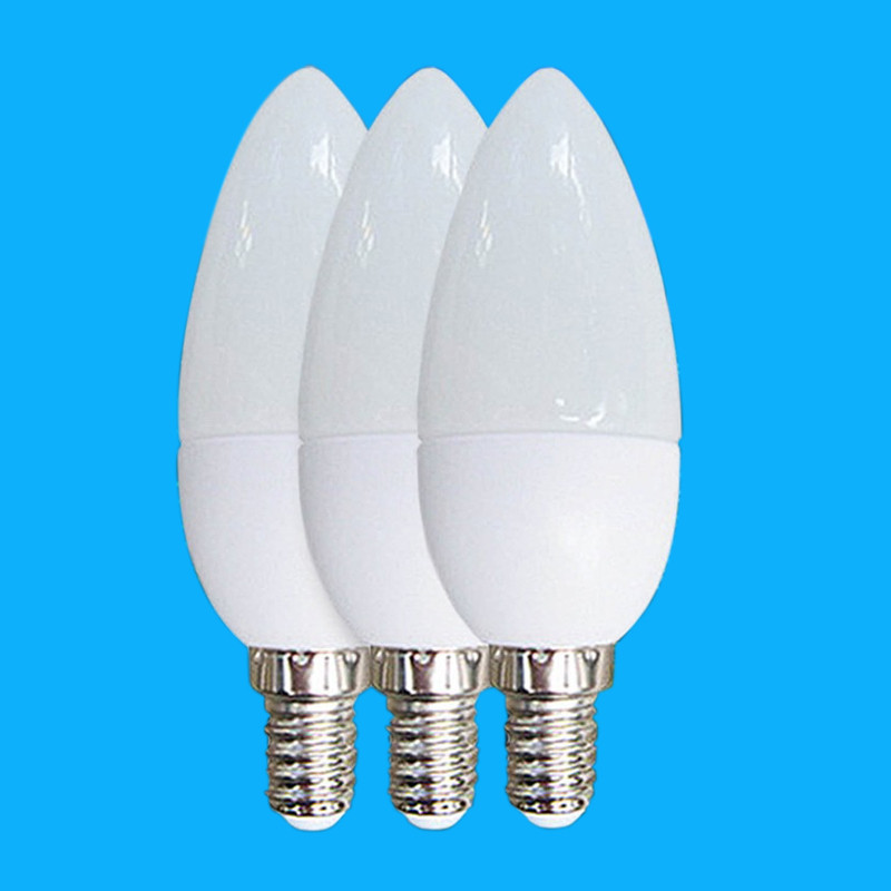 1pcs E14 Led Candle Energy Saving Lamp Light Bulb Lampada