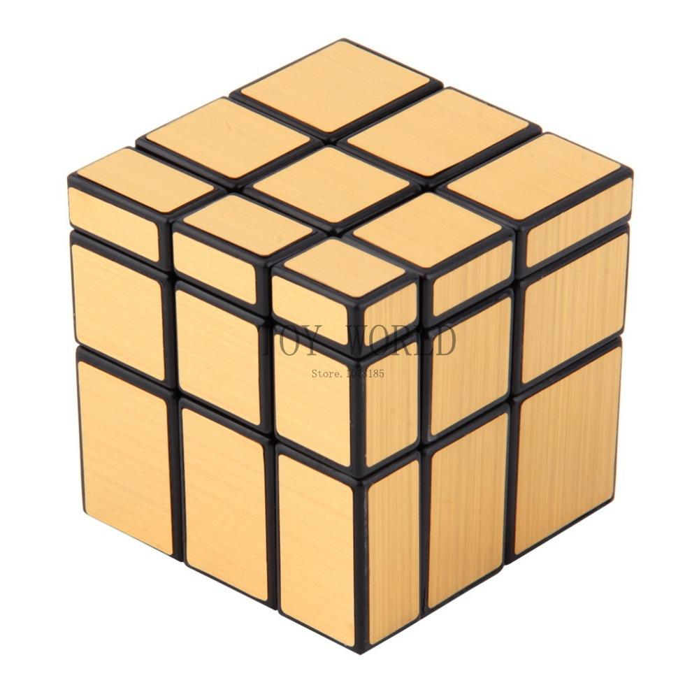 Puzzles & Games Buy Cheap 3x3x3 Mirror Blocks Silver Shiny Magic Cube Puzzle Brain Teaser Iq Kid Funny New Hot Clients First