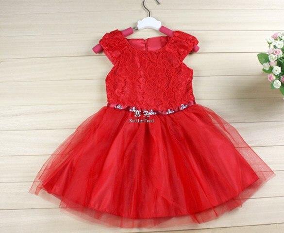 0c60c0c4c52d Baby Girl Kids Children s Wear Short Sleeve Zipper Lace Fancy Dress ...