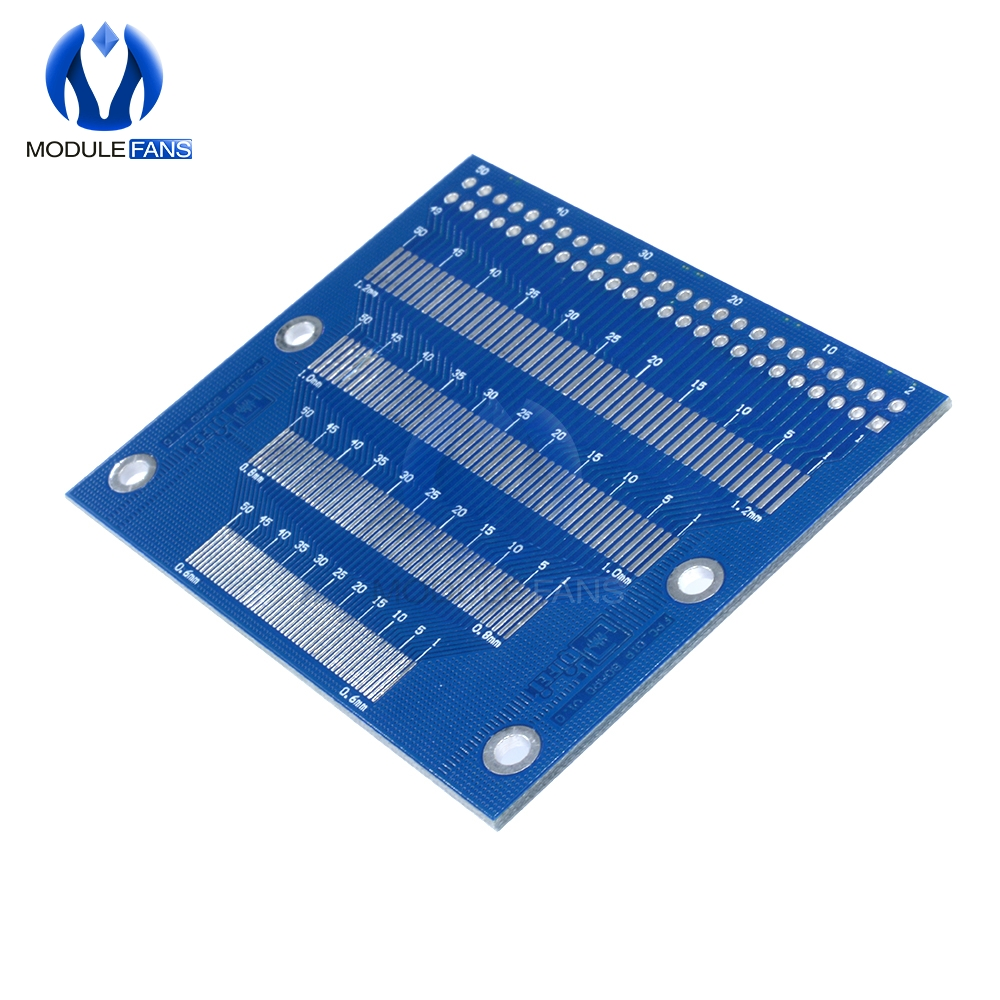Adapter Plate FFC to 2.54 Inline Transfer Board 0.5mm Pitch Seat
