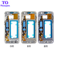 5pcs/lot  Middle Frame Housing front Bezel Mid Chassis cover For Samsung for Galaxy S7 G930 S7 Edge G935 Replacement
