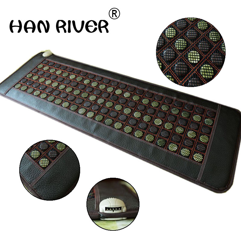 2018 New product! korea heating jade mattress tourmaline mat jade massager Thermal heating Jade massage cushion 50*150CM