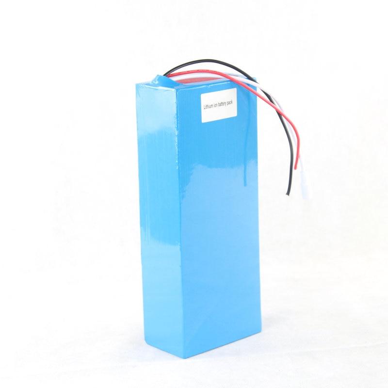 Freies Zollgebühr-Qualitäts-DIY 48V 15Ah Li-Ionbatterie-Satz mit 2A - Radfahren - Foto 2