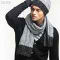 2017 New Arrival Time-limited Adult Acrylic Lycra Winter Scarf Thermal Yarn Scarf Male Winter Fashion Knitted Handmade Muffler