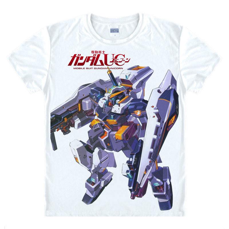 Mobile Suit Gundam 05 футболка Gundam серии Рубашка Пара Футболки для женщин аниме Повседневное Футболки для женщин Janpanese аниме милые детские подарки