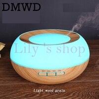 Wood Grain 300ml Essential Oil Doffuser Aroma Ultrasonic Mist Make Humidifier For Home Office Yoga 7