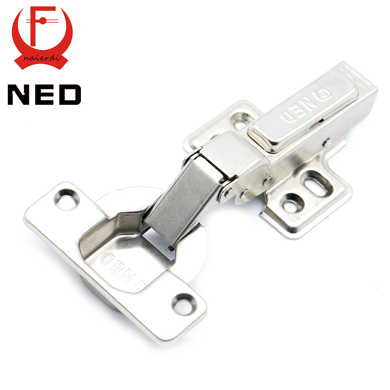 Beau 2016 NED Full Size Strong 40MM Cup Iron Hinge 40MM Cup Hydraulic Hinges For Cabinet  Cupboard Door Hinges Furniture Hardware