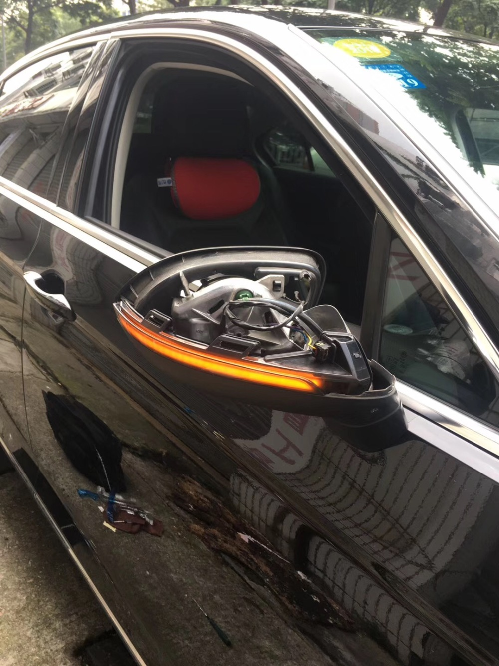 AIDUAUTO FOR VW Passat B8 Variant Arteon Dynamic Blinker LED Turn Signal Light Mirror Indicator Sequential 2016 2017 2018 2019