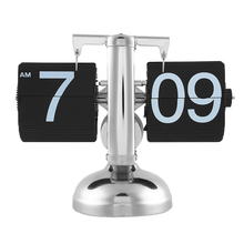 Unique Gift Retro Nice Desk Wall Auto Flip Clock Number New Design Simple Modern