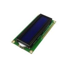ЖК-дисплей 1602 ЖК-дисплей монитор 1602 5 В синий экран и белый код для Arduino DIY Kit