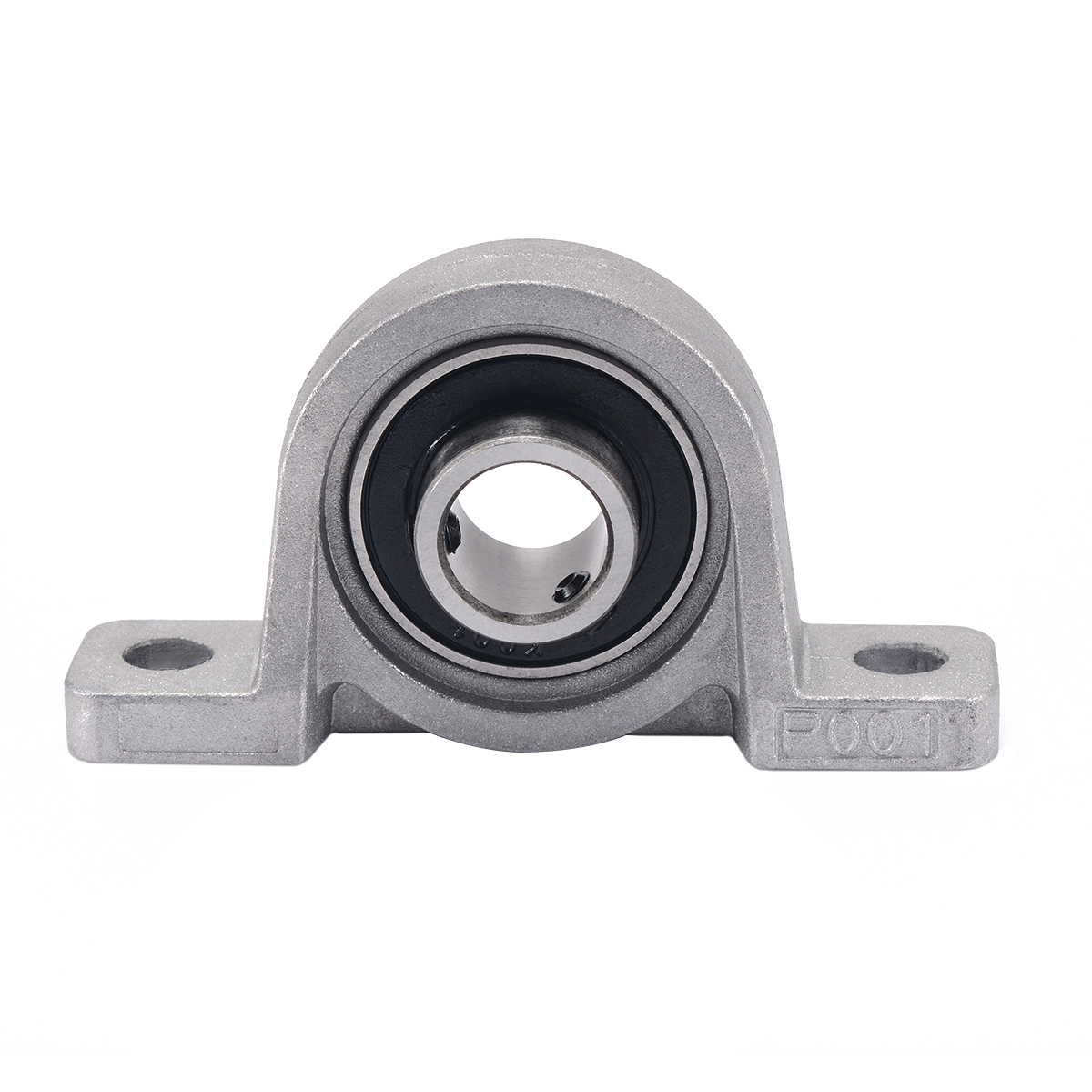 2pcs Mayitr KP001 Bearing Zinc Alloy Mounted Support Pillow Block Ball Bearings Mini DIY Housing Shaft 12mm Diameter 2pcs ufl001 pillow block ball bearing 12mm zinc alloy miniature bearings with sleeve