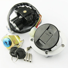 цена на Fuel Tank Cover Cap Lock With Ignition Switch Lock FOR Suzuki GSX650 2008-2011 GSX1250 2010 2011