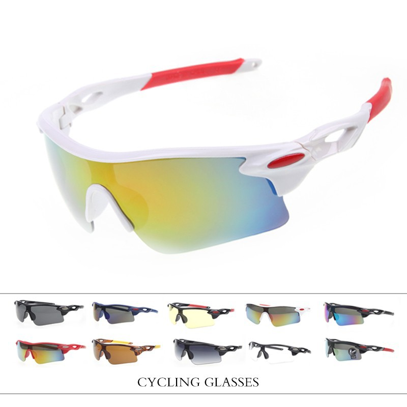 2017 UV400 Cycling Eyewear Outdoor Sports MTB Bike Goggles Windproof Glasses Motorcycle gafas Ciclismo Sunglasses