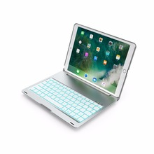 Wireless Bluetooth Keyboard for Tablets Ipad pro 10.5 keyboard with colorful Backlight Smart Sensor for PC Panel Computer new universal rechargeable wireless bluetooth keyboard with 7 colors led backlight for ipad iphone laptop pc tablet smart phones page 9