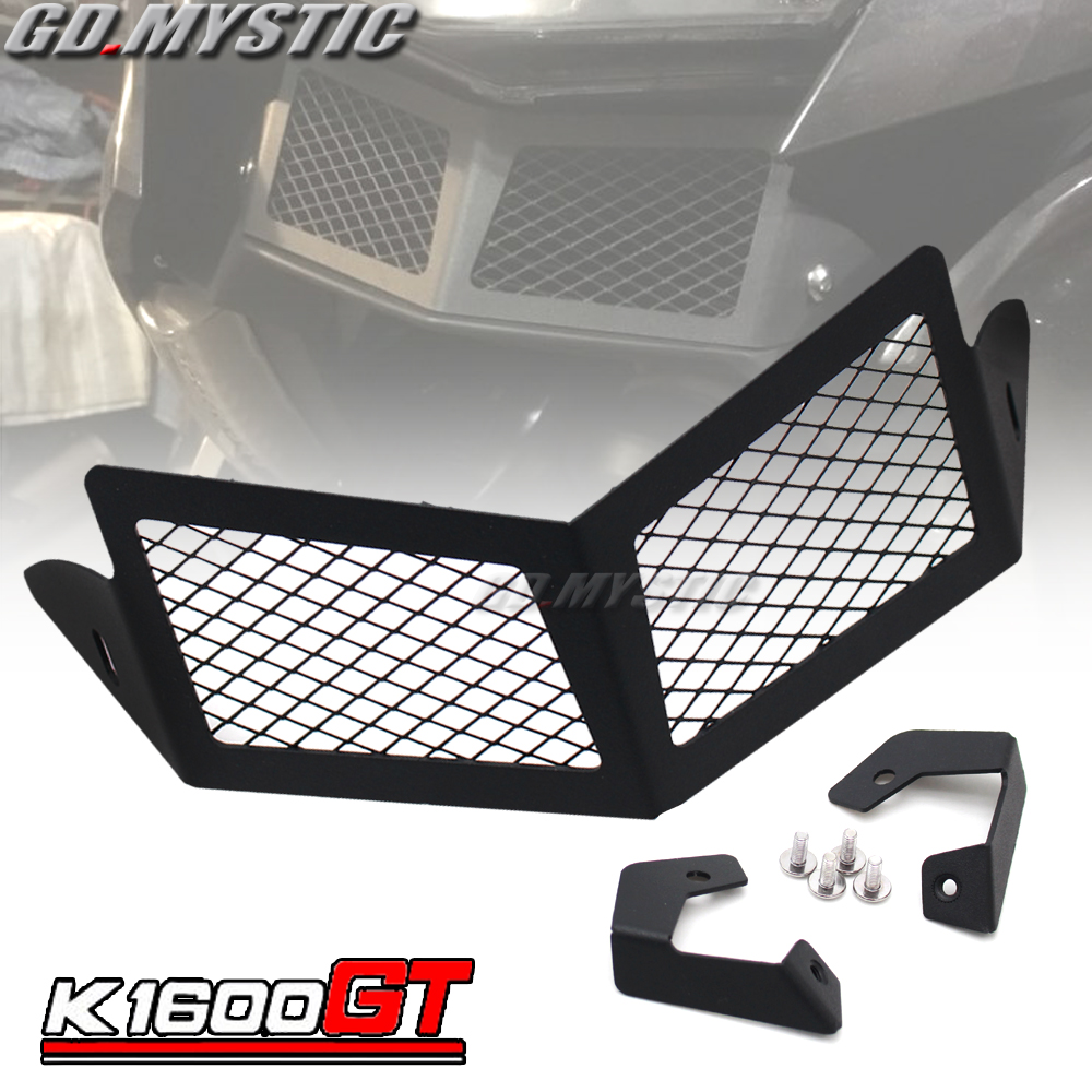FOR BMW K1600GT K1600GTL K1600 GT GTL Motorcycle Accessories Radiator Water Tank Protection Stainless SteelFOR BMW K1600GT K1600GTL K1600 GT GTL Motorcycle Accessories Radiator Water Tank Protection Stainless Steel