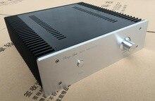 WANBO Audio 3209 full aluminum HIFI audio amplifier box Class A 15W size: 320*90*313mm