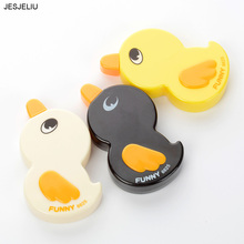 Cute Duck Kawaii Decoration Sticker Tape Pen Roller Correction Tape Cartoon Cute Kids Stationery Wholesale School Supplies Tool