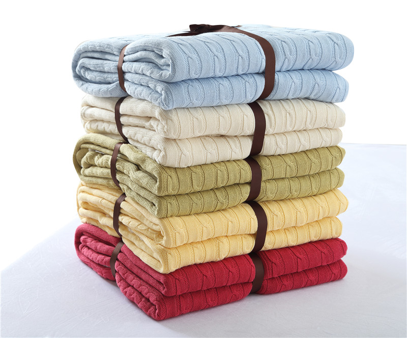 winter weighted fleece deken blanket for bed sofa blankets adult chunky knit Bedspread solid soft fluffy throw in Blankets from Home Garden