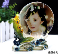 Creative Home Furnishing crystal ornaments pottery wedding custom personalized photo living room decoration do