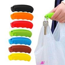 1 шт. ручка для сумки-переноски инструменты силиконовая ручка расслабленная ручка для Покупок Сумка зажимы обработчик кухонные инструменты