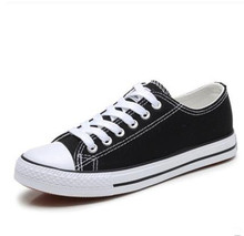 Women Shoes Black Sneakers Canvas Tenis Feminino Classic Fashion Casual Ladies Lace Up Star Flats Vulcanized